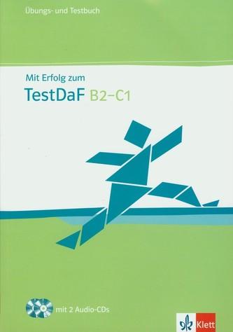 Mit Erf. z. Test DaF - cvičebnice se souborem testů + 2CD
