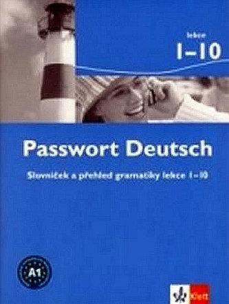 Passwort Deutsch 1 - Slovníček (3-dílný)