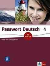 Passwort Deutsch 4 - Učebnice + CD (5dílný)