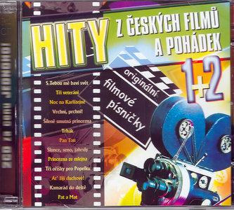 Hity z českých filmů a pohádek 1+2 - 2CD