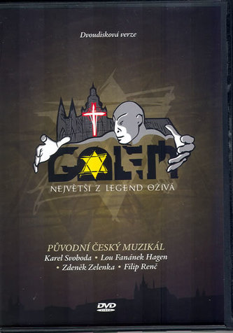 Golem - Muzikál - 2 DVD