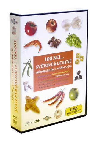 100 NEJ … světové kuchyně - 10 DVD