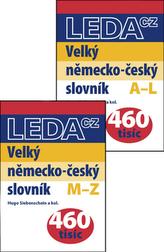 Velký německo-český slovník A-L, M-Z (1+2 díl)