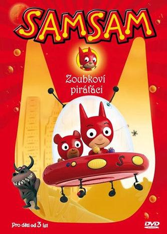 SamSam 1 - Zoubkoví piráťáci - DVD