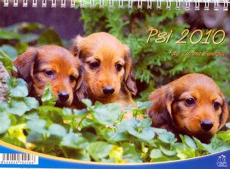Kalendář 2010 - Psi - stolní (se psím kalendáriem)