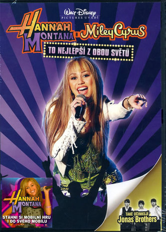 Hannah Montana: To nejlepší z obou světů - DVD