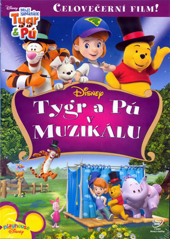 Moji kamarádi Tygr a Pú - Tygr a Pú v muzikálu - DVD