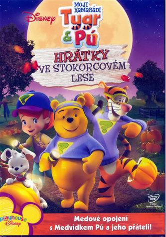 Moji kamarádi Tygr a Pú - Hrátky ve Stokorcovém lese - DVD