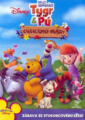 Moji kamarádi Tygr a Pú - Kamarádské příběhy - DVD