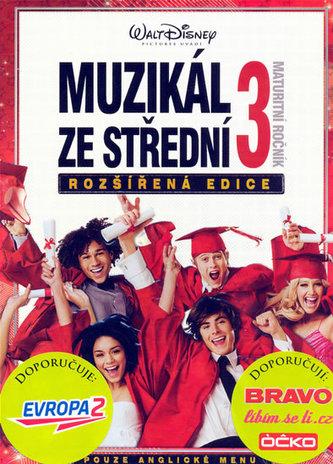 High School Musical 3 - Maturitní ročník - DVD