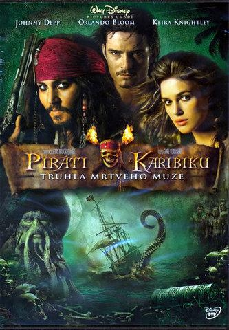 Piráti z Karibiku 2 - Truhla mrtvého muže - DVD