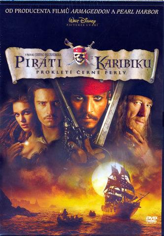 Piráti z Karibiku - Prokletí Černé Perly - DVD