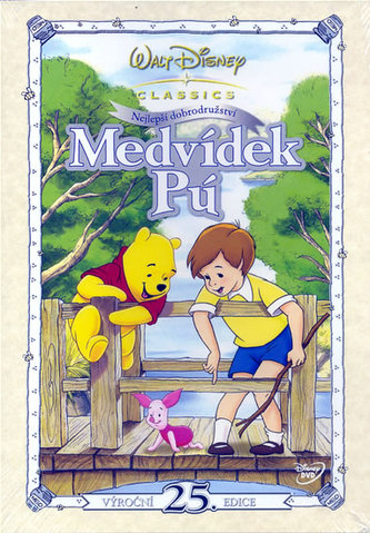 Medvídek Pú - Nejlepší dobrodružství - DVD