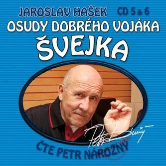 Osudy dobrého vojáka Švejka 5-6 - 2CD - Jaroslav Hašek