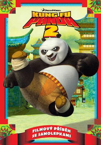 Kung Fu Panda 2 - Filmový příběh se samolepkami