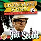Legendární scénky 2 - Jiří Sovák - CD