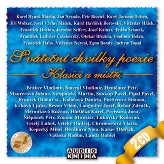 Sváteční chvilky poezie - Klasici...-5CD