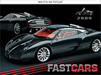 Kalendář Fast Cars 2009