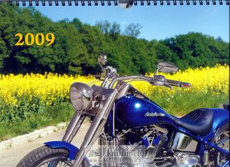 Kalendář Special Bikes 2009