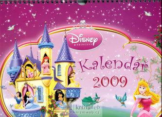 Kalendář Princezny 2009