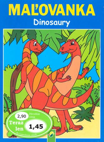 Dinosauři - Omalovánka
