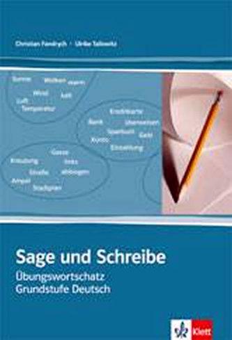 Sage und Schreibe - cvičebnice slovní zásoby s klíčem