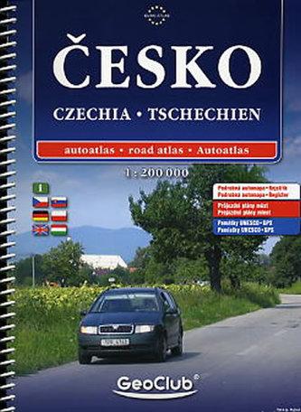 Česko atlas A4 1:200T spirála