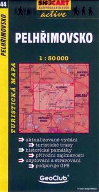 Pelhřimovsko - 1:50000 tur. mapa