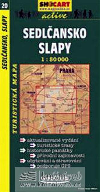 Sedlčansko,Slapy 1:50T -  turist .mapa