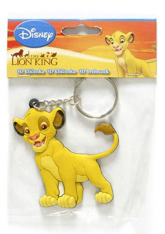 3D Klíčenka/ Lví král