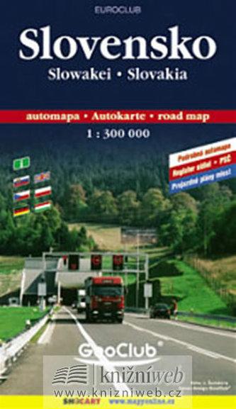 Slovensko automapa - 1:300 000