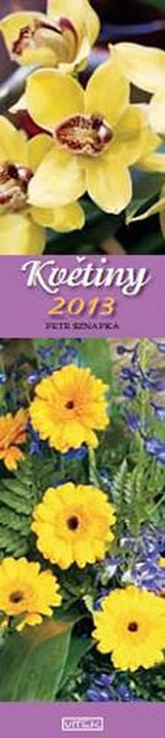 Kalendář 2012 - Květiny vázanka - nástěnný