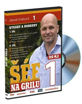 Šéf na grilu 1 - DVD - Zdeněk Pohlreich