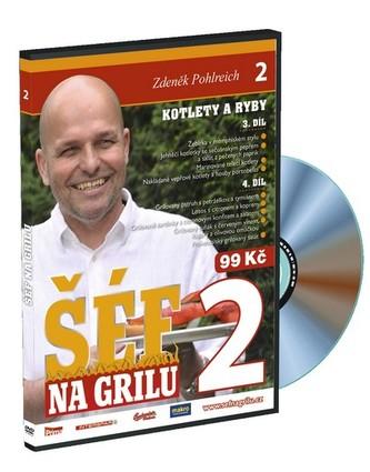 Šéf na grilu 2 - DVD - Zdeněk Pohlreich
