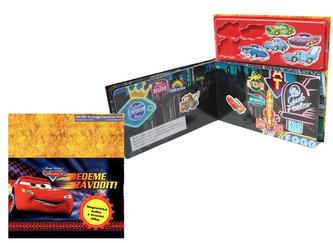 Auta 2 - Jedeme závodit! - Magnetická kniha s hracími dílky