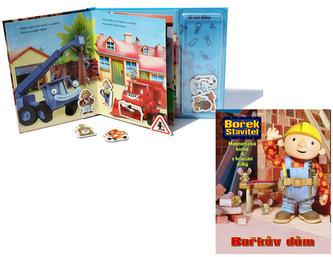 Bořek Stavitel - Bořkův dům - Magnetická kniha s hracími dílky