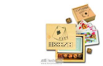 Dřevěná krabička - Soubor her
