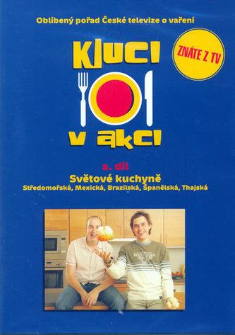 Kluci v akci - 2.díl (DVD) - Světové kuchyně