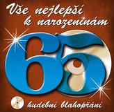 Vše nejlepší k narozeninám! 65 - Hudební blahopřání - CD