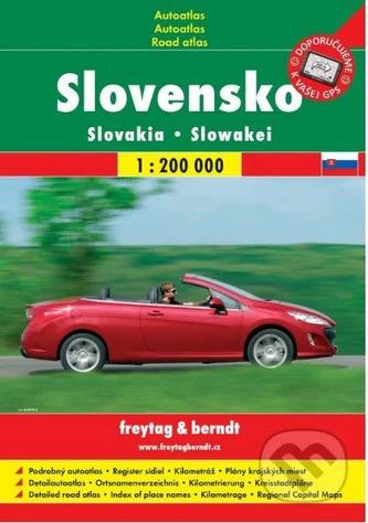Autoatlas Slovensko 1:200 t spirála
