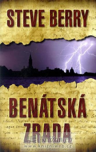 Benátská zrada - 2. vydání - Steve Berry