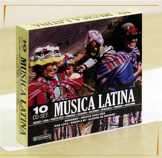 Music latina 10CD