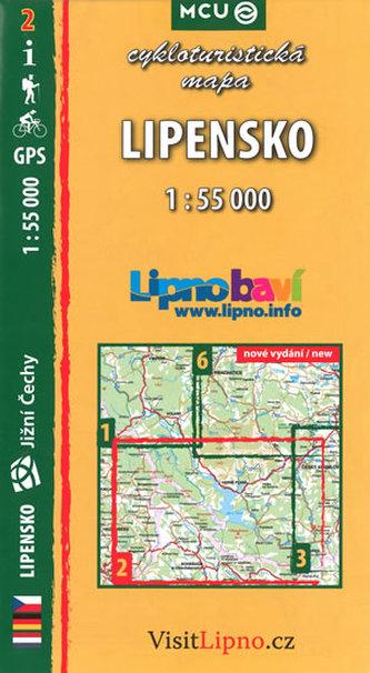 Lipensko - cykloturistická mapa č. 2 /1:55 000