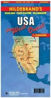 USA západ