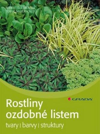 Rostliny ozdobné listem - tvary, barvy, struktury