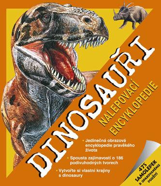 Dinosauři - Nalepovací encyklopedie