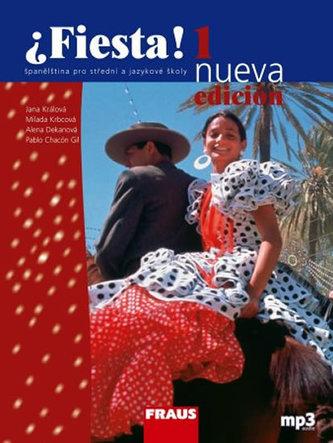 Fiesta 1 nueva učebnice + mp3 - 3. vydání