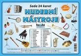 Hudební nástroje - Sada 24 karet