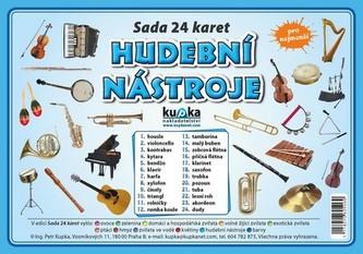 Hudební nástroje - Sada 24 karet - Jiří Kupka