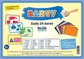 Barvy - Sada 24 karet
